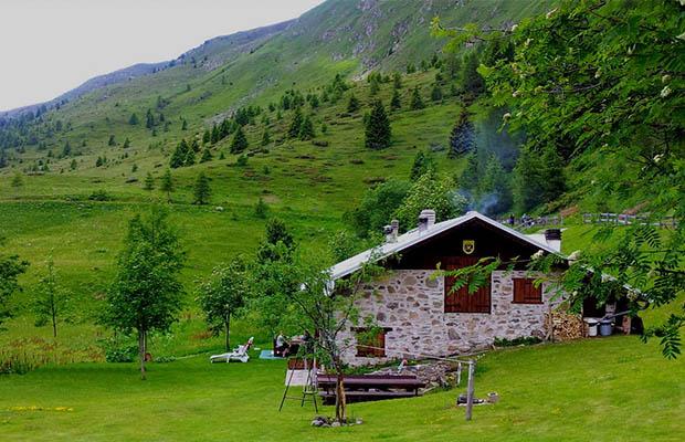 baita ristrutturata presso località Trenca - Lagorai