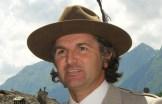 ga Andrea Enzio nel tradizionale costume delle guide di Alagna Valsesia