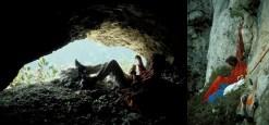 Nel Kol dei Disertor, a ridosso delle Cime d'Ambrusogn | Bivacco durante l'apertura della via degli Antichi, sulla Seconda Pala di San Lucano (30 maggio 1981)