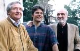 Giorgio Redaelli, Marco Anghileri e Cesare Maestri (ph R. Serafin)