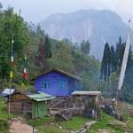 4. Sakyong, villaggio Lepcha. Ultimo presidio umano prima della giungla totale. 25 abitanti a 1680 m. Il più settentrionale del Sikkim (ph E. Ferri – K2014.it)