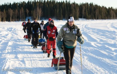 Iditarod Trail Invitational 2007, Marco Berni