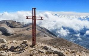 La vetta del Monte Amaro (2793 m)