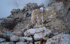 Le Lung-Ta sulla Cima Grande di Lavaredo
