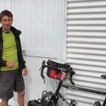 Fulvio e la sua fedele bicicletta, domenica 20 luglio
