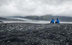 Di fronte al Vatnajökull, il ghiacciaio più grande d'Europa, giovedì 24 luglio