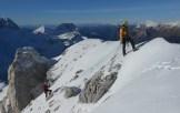 Uscita sulla cima del Golovec , 2285 m