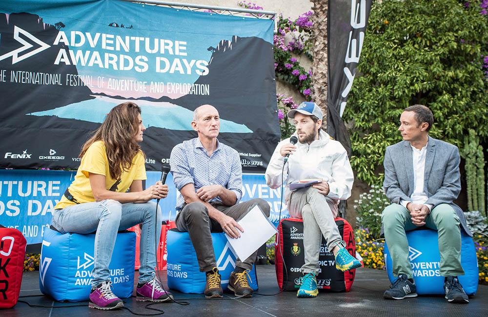 Eleonora Bujatti di Adventure Awards Days, intervista Teddy Soppelsa, Davide Fiorasio e Claudio Primavesi