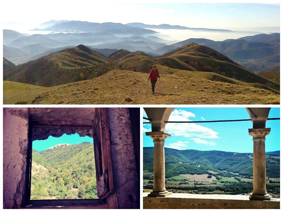 I monti della bassa Valnerina - la Valle Castoriana - la Collegiata di Campi (Preci)