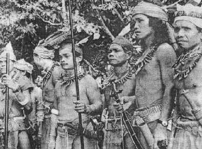 Bidayuh Dayak Warriors