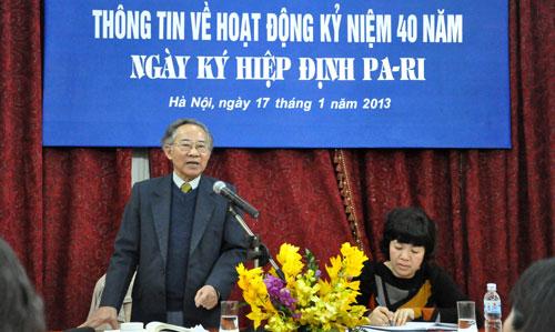 Hà Nội muốn quên Hiệp định Paris?