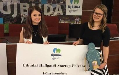 Terméktervező siker a startup pályázaton