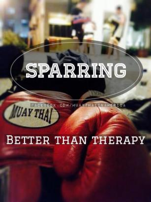 sparring better than therapy