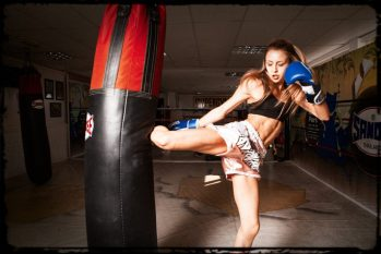 The heavy bag should be your #1 tool when it comes to toughening up your shins.