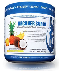 recover surge post workout muay thai supplement