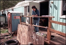Image result for image of cherokee indian reservation housing