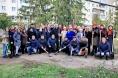 Представители СМИ посадили деревья в сквере Журналистов в Казани