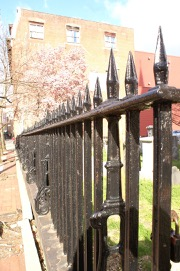 cast iron fence