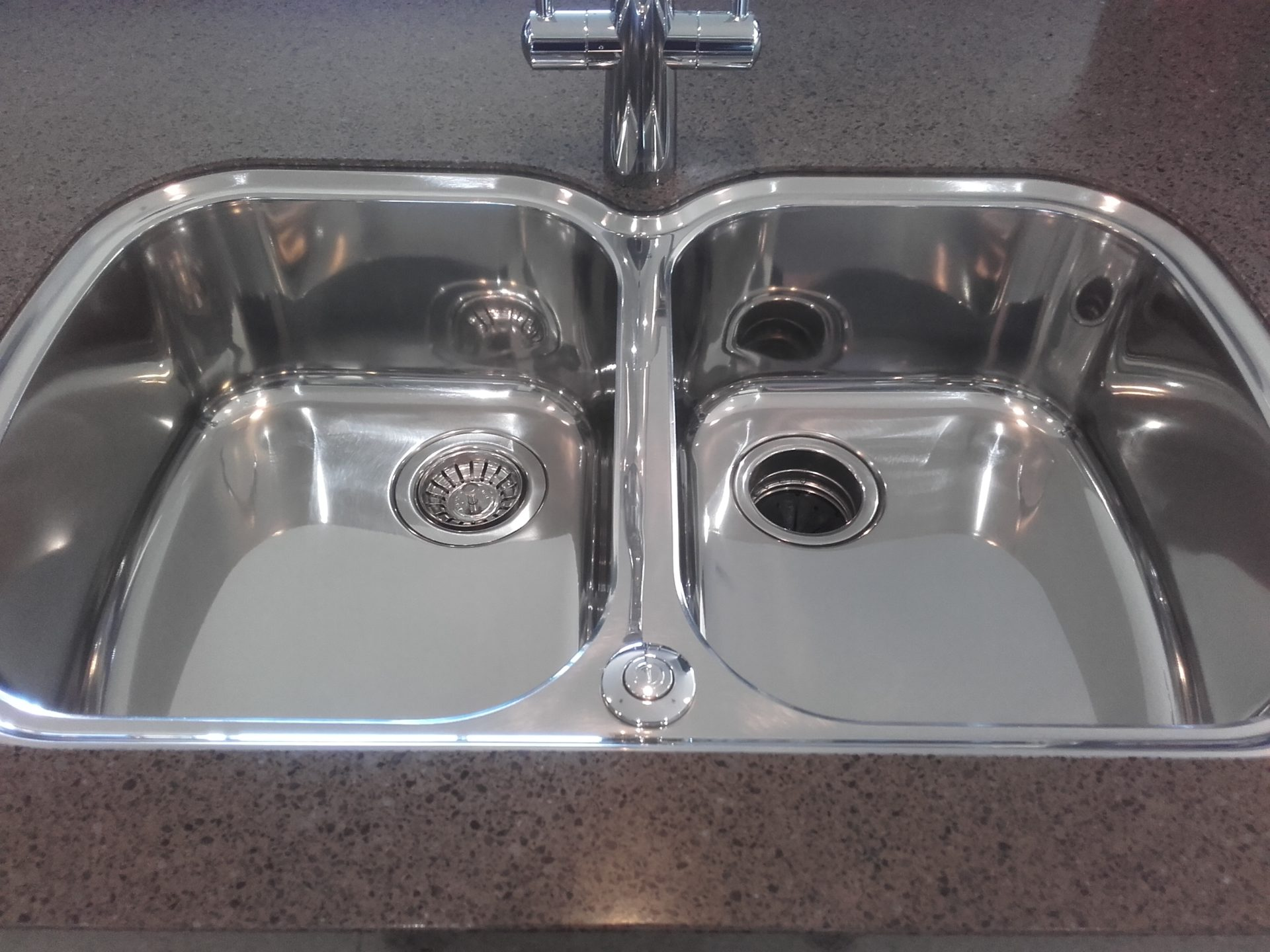 restoring a stainless steel sink old