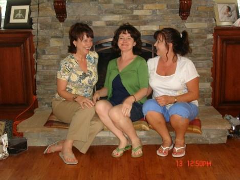 My Sisters:  Myself, Linda and Pam