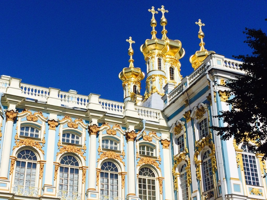 Catherine's Palace at Pushkin, Russia