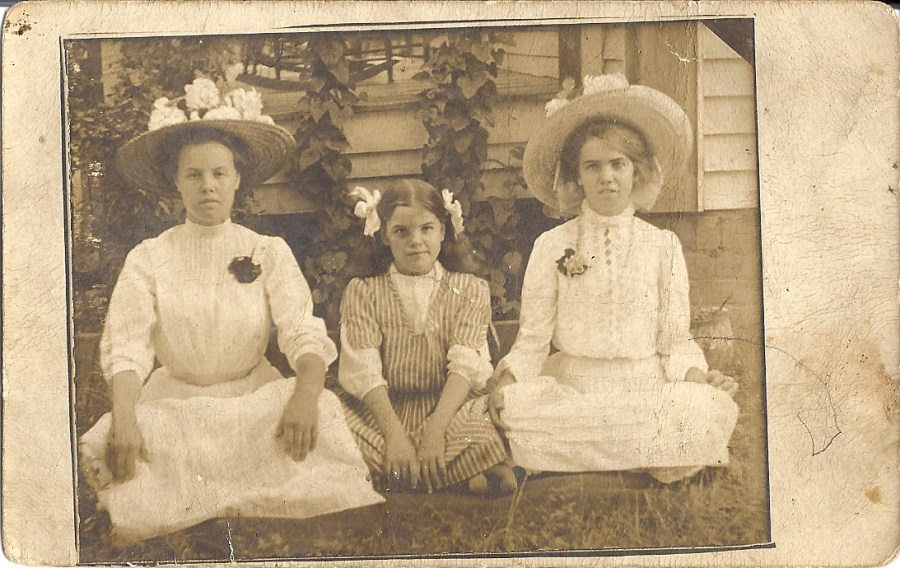 Ranny & Her Sisters. Ranny is on the far right.