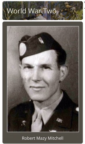 1st Lieutenant Robert Mazy Mitchell