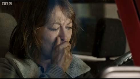Gillian cries