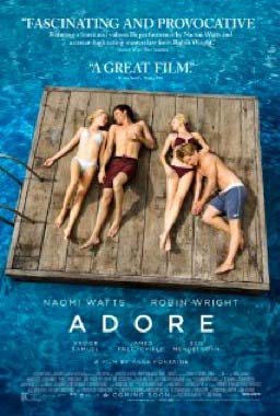 The poster for the movie Adore