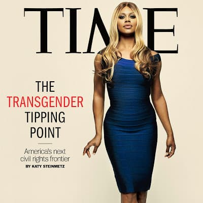 Lavene Cox on the cover of Time