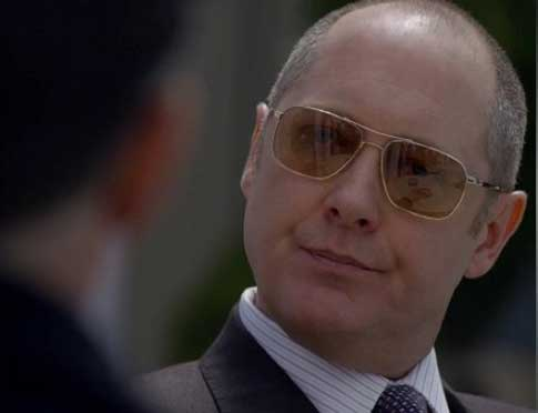 James Spader in The Blacklist