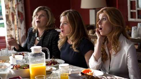 Debra Monk, Kathryn Hahn and Connie Britton