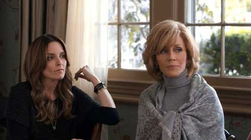 Tina Fey and Jane Fonda
