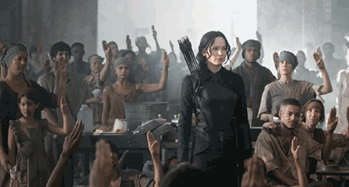 This scene from The Hunger Games: Mockingjay Pt. 1 looks like an Italian masterpiece from the Renaissance.
