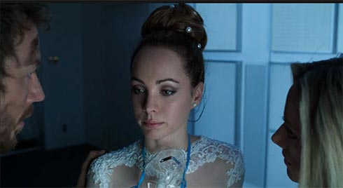 Kris Holden-Ried, Ksenia Solo and Zoie Palmer in Lost Girl