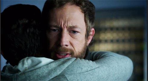 Dyson restrains Mark.