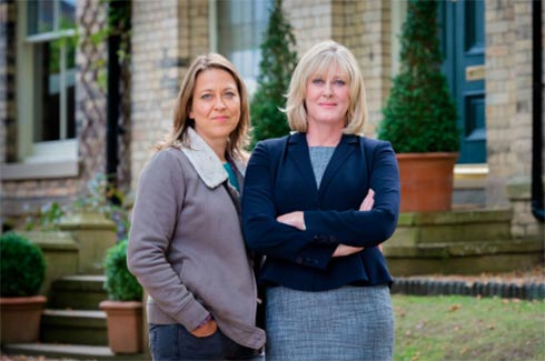 NIcola Walker and Sarah Lancashire