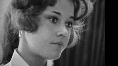 A young Jane Fonda