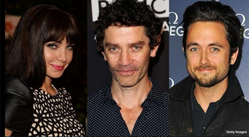 photos of ksenia solo, Justin Chatwin, James Frain