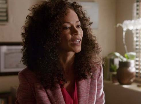 Sherri Saum as Lena Adams in The Fosters