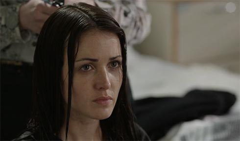 Karen Hassan as Annie Brawley in The Fall