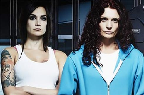 Danielle Cormack as Bea and Nicole de Silva as Franky.