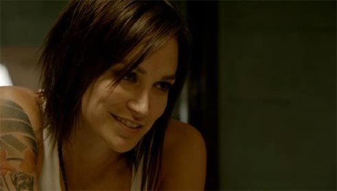 Nicole de Silva plays Franky