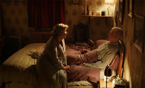 Alan and Celia talk.