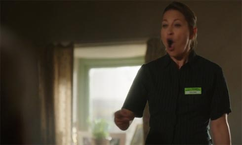 Gillian is angry.