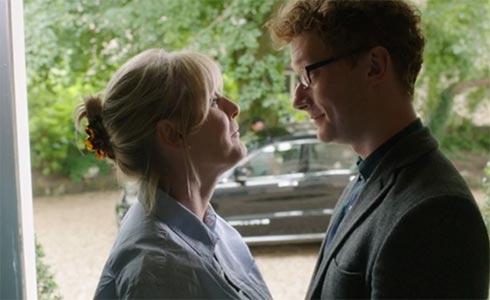 Caroline says goodbye to William.