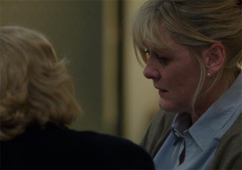 Caroline at hospital