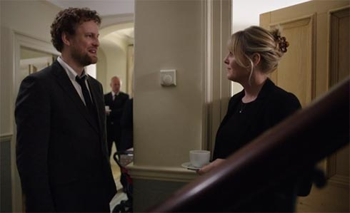 Greg talks to Caroline
