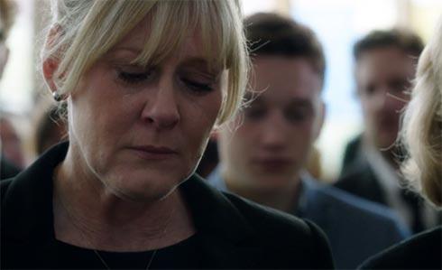 Caroline cries