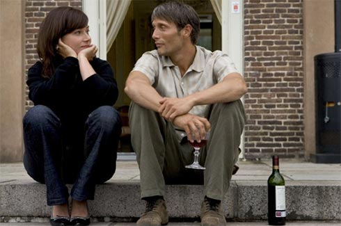 Sidse Babett Knudsen and Mads Mikkelsen in After the Wedding
